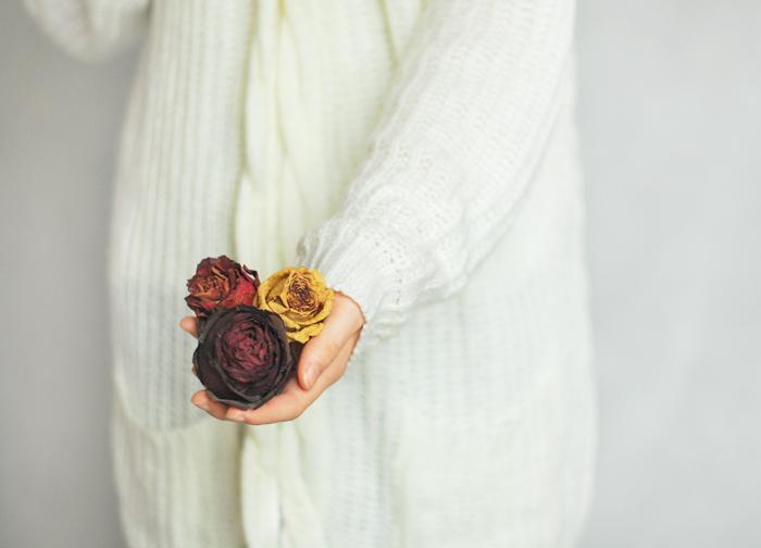 minimalizm, zdrowy umiar, róże