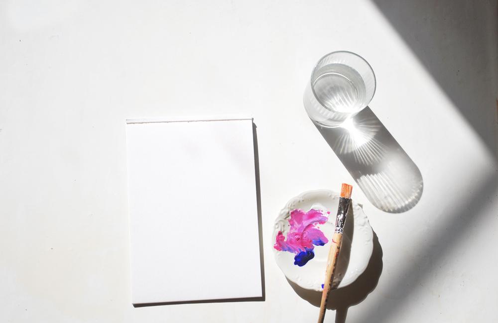 Jak zorganizować przestrzeń twórczą, sprzątanie w 15 minut, organizacja przestrzeni, blog, twórczy