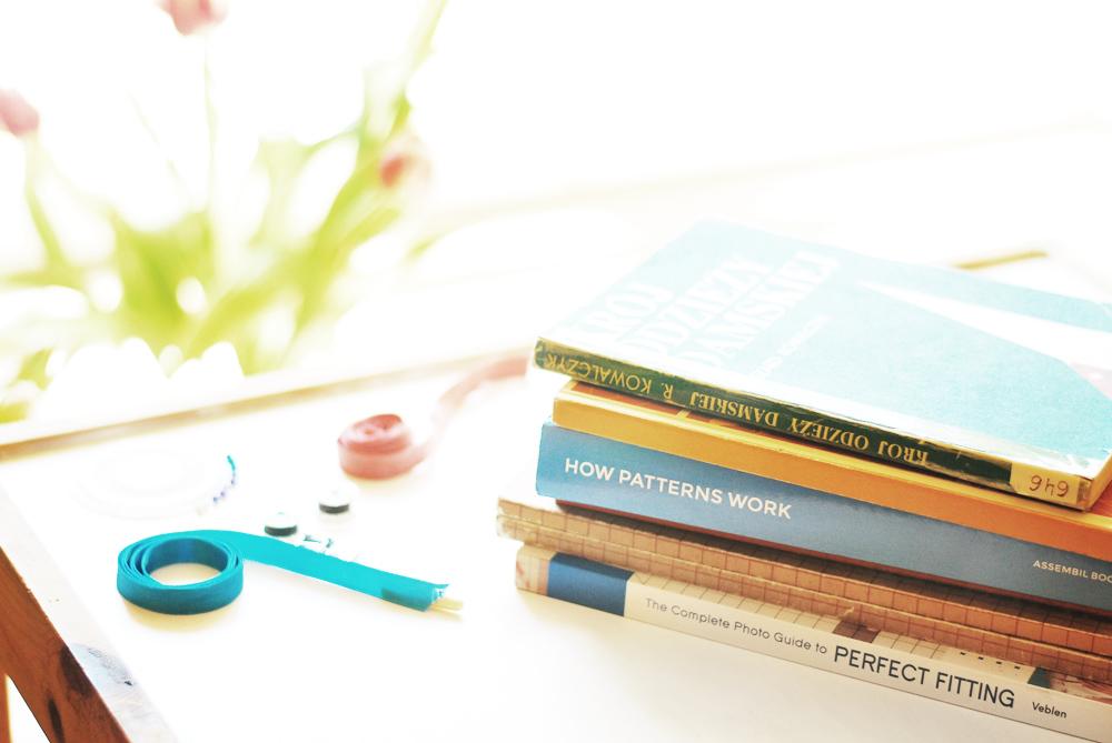 szycie, książki do modelowania, książki do konstrukcji ubioru, szyciowy blog roku 2014