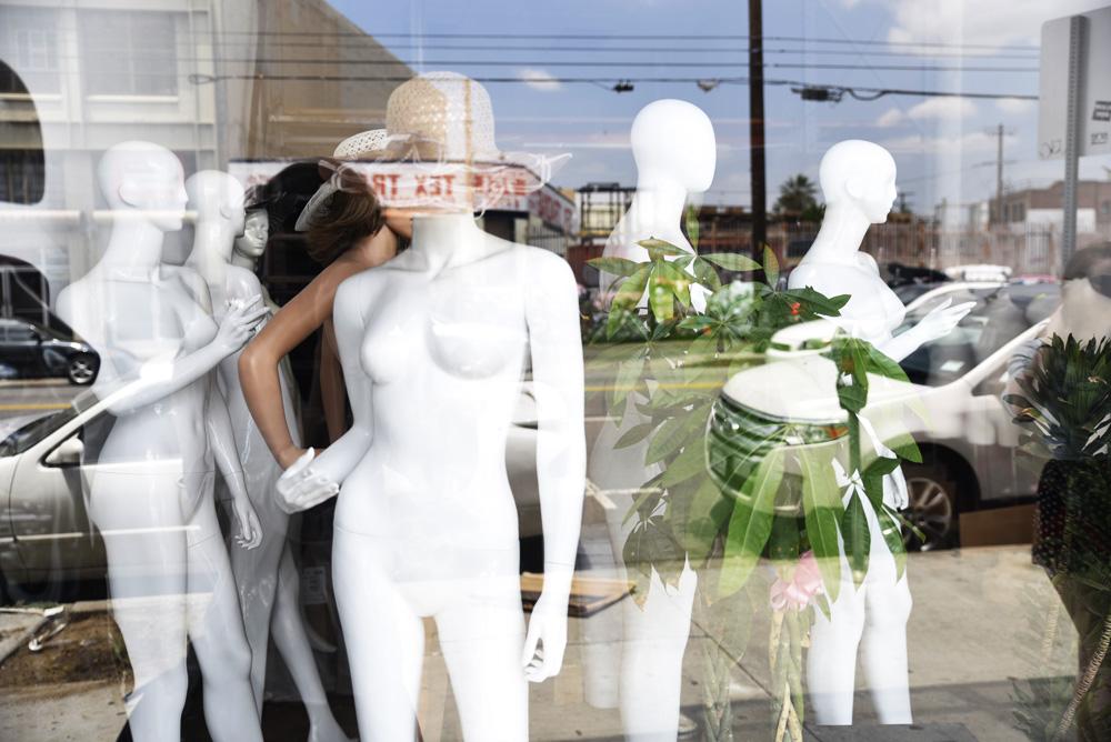 turystyka tekstylna, sklepy z tkaninami, Los Angeles