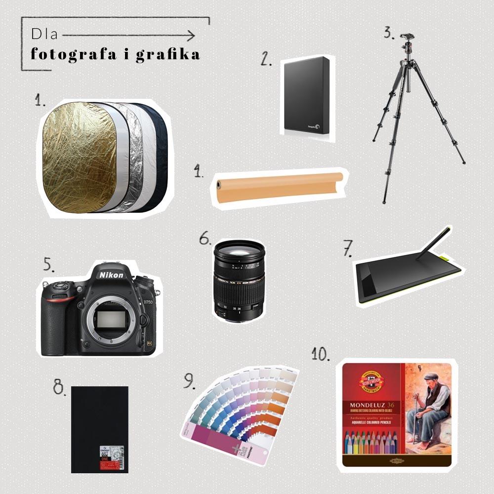 prezenty grafik fotograf