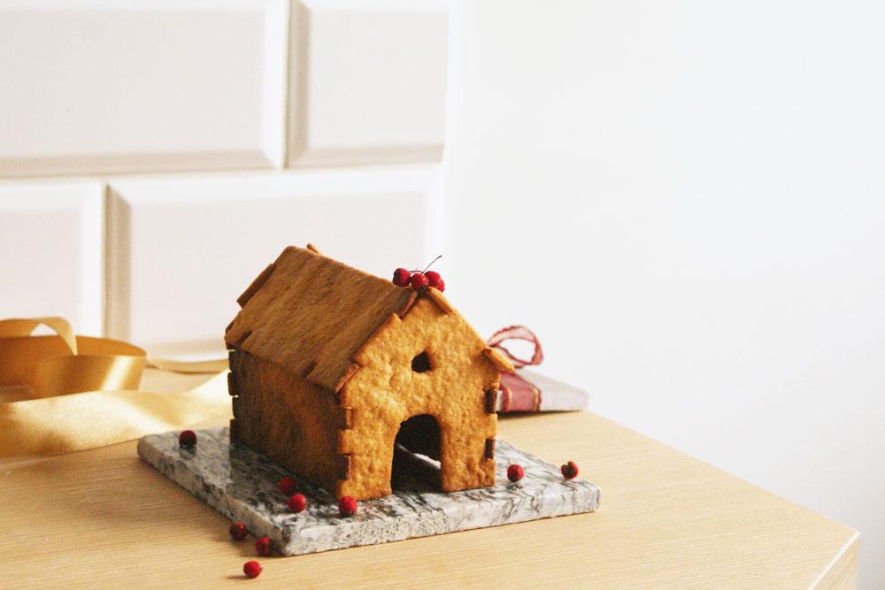 domek z piernika, bez lukru, składany, święta, instrukcjia, DIY, pobierz, szablon