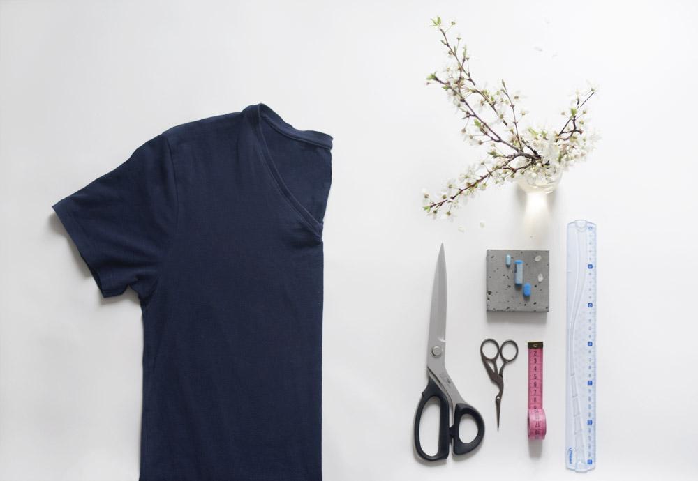 co bedzie potrzebne, Bluzka z frędzlami, DIY, Zalando DIY, blog, joulenka