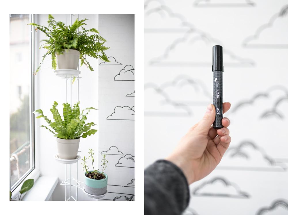 Pomysł na hobby od Joulenki - uprawa roślin doniczkowych w domu i malowanie ścian.
